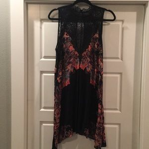 Free People New with Tags tunic sz M